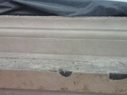Restauratie moluren en baksteenimitatie, Simili bepleistering